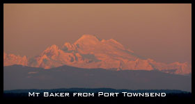 Mt Baker from Port Townsend
